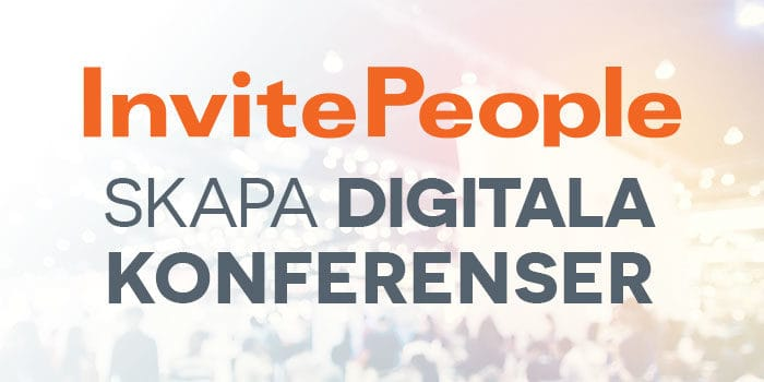 digitala konferenser invitepeople
