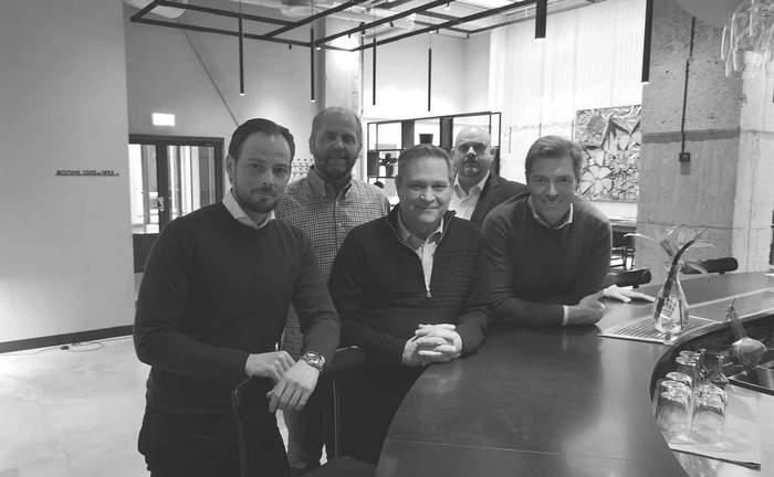 Nils Englund, Expohouse – Mats Pettersson, Octanorm – Hansi Sundström, Workman – Mats Svensson, Sture – Stefan Dohrn, Dohrns