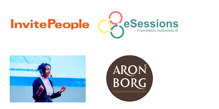 invitepeople esessions aronsborgs konferenshotell sofia nordgren
