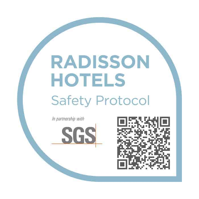 radisson hotels safety protocol seals