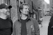 Peter Hammarstrand, Design Director, Linus Nylund och Niclas Rahm, Creative & Communication Chief Officer på Eventyr.