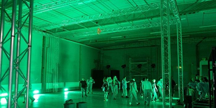 Dansvideoinspelning ambra succi diambra danslinje i studio3