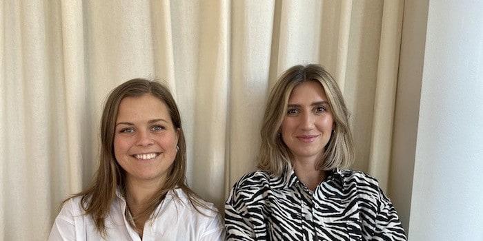 På bild: Stina Sarvik, produktionsledare och Mikaela Karlsson, kundansvarig på ZILLOMAN Eventeffect
