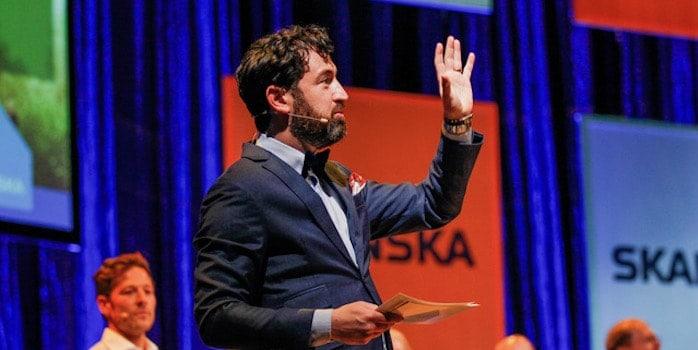 skanska park arena 44 Boka Isaac Kuritzén som moderator till ditt digitala möte
