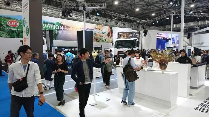 Monter for UD Trucks Tokyo Motor Show 2019 Foto Robert Edanius