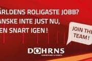 Dohrns annons rekrytering 700X350 Join