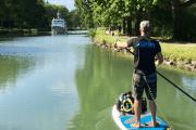 Paddla SUP langs Gota kanal