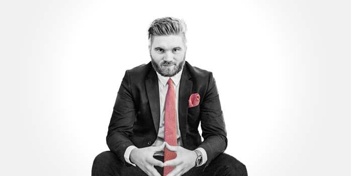 Tie duk Topp100 – Sveriges populäraste föreläsare och moderatorer 2021: Chris Pettersson
