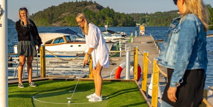 x1000w Minigolf by the sea Golfbaren & Vad Händer i Stockholm lanserar GUGO Minigolf Challenge!