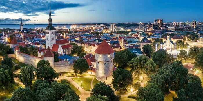 Gamla stan i Tallin, en av många spännande platser att besöka i Estland. Foto: Visit Estonia