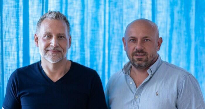 Mats Mileblad (VD) och Tomasz Pieniazek (Kreativ chef) Onemotion IMC