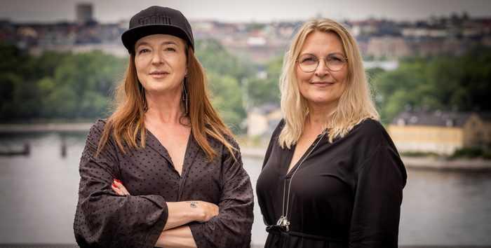 Sanna Gebeyehu, Concept & Product Owner för Stockholm Furniture & Light Fair och Chicie Lindgren, Business Area Manager Stockholm Design Events ser båda fram emot den kommande mässan i februari 2022.