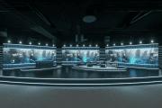 Scenen i Studio Flex ar over 200 kvadratmeter stor