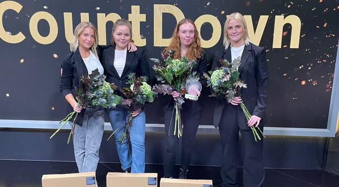 Ida Myrin Elin Brevitz Emilia Karlsson och Linn Ankarstad