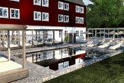 Skytteholms Nordisk Spa utemiljö