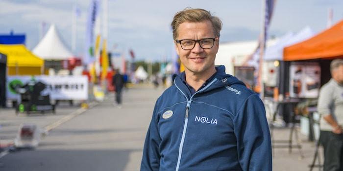 Jonas Dahlberg, vd på Nolia AB.