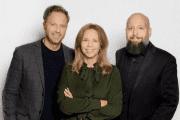 Great Conversations grundare Olof Röhlander, Maria Berghagen och Fredrik Sjöholm