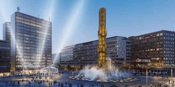 Space oppnar varldens storsta gamingcenter med over 400 spelstationer pa sju vaningsplan vid Sergels torg i Stockholm.