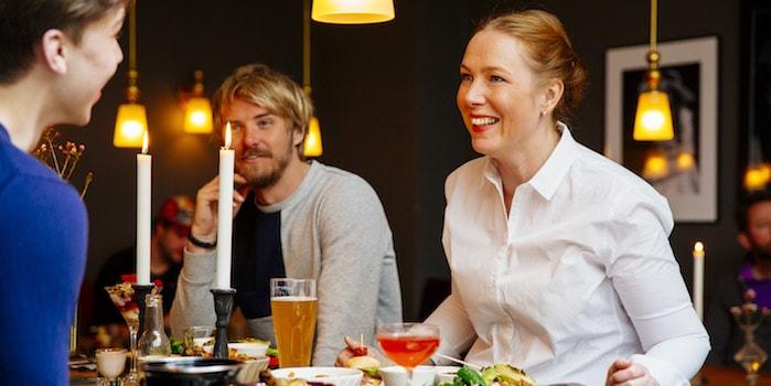 brunch mingel Mat, prat och helskön minigolf