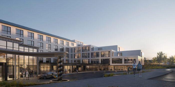 Hotel Tylösand bygger ut och får ny konferenslokal med utställningsyta