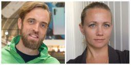 Gustav Martner, nordisk digitalchef på Greenpeace och Hedvig Hagwall Bruckner, copywriter på King